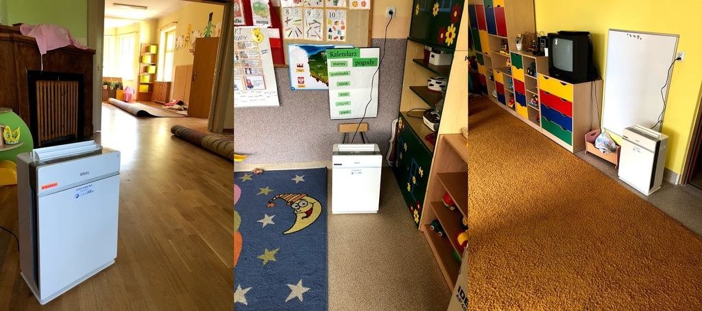 Oczyszczacz powietrza do przedszkola - przedszkole w Nysie