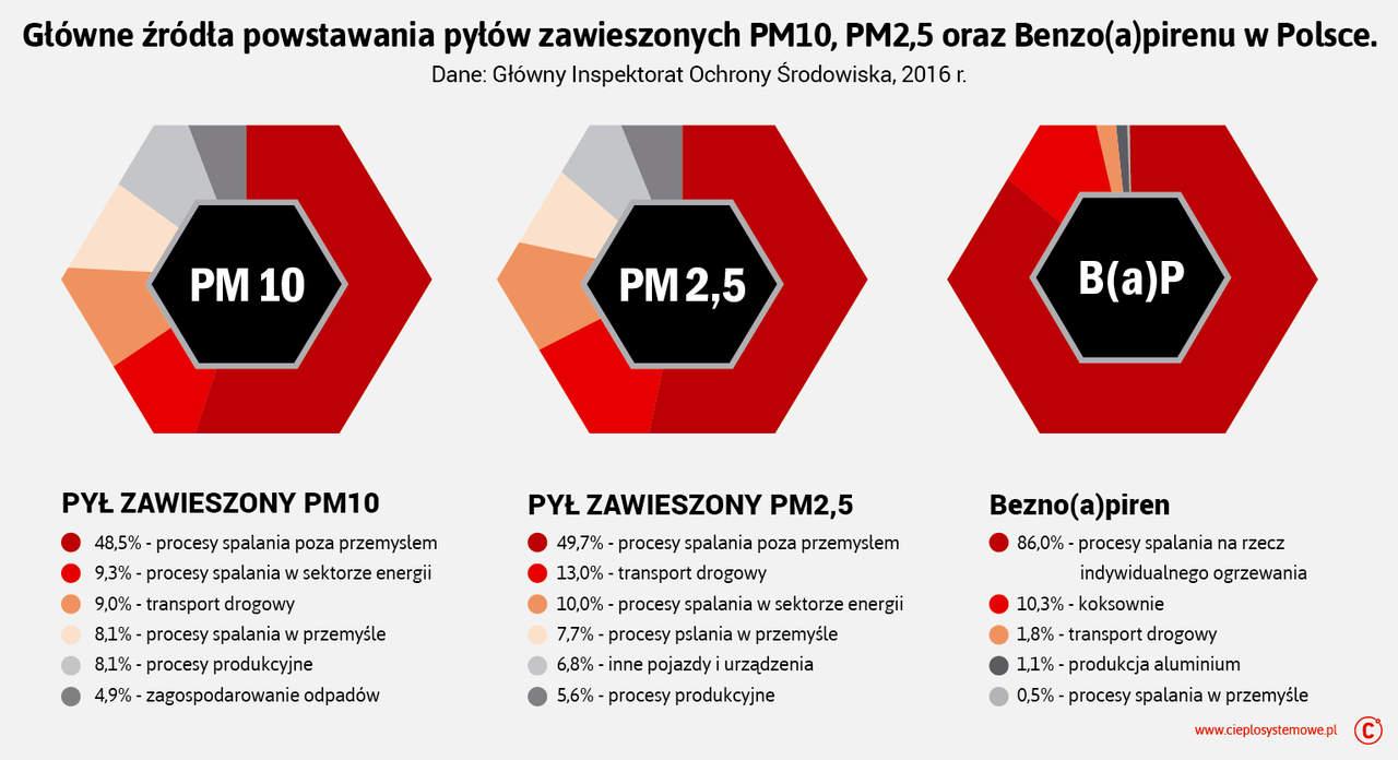 Polska w cieniu smogu - niska emisja