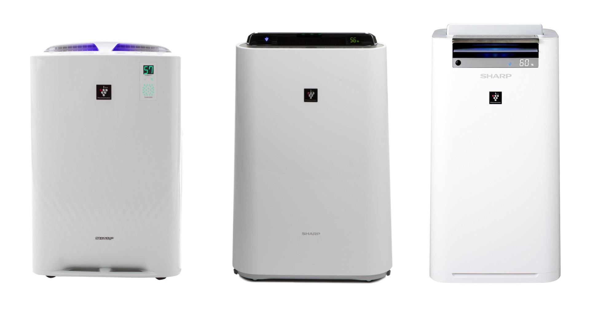 Porównanie oczyszczaczy powietrza Sharp KC-A, KC-D i KC-G - oczyszczacz najlepszym sposobem na czyste powietrze w domu