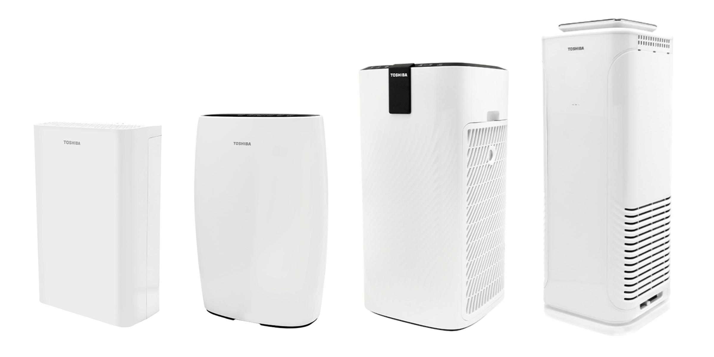 Porównanie oczyszczaczy Toshiba - wygląd