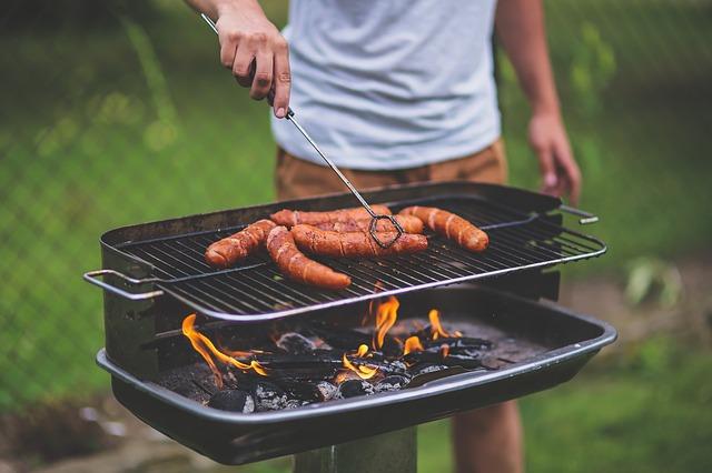 Pył zawieszone - grill