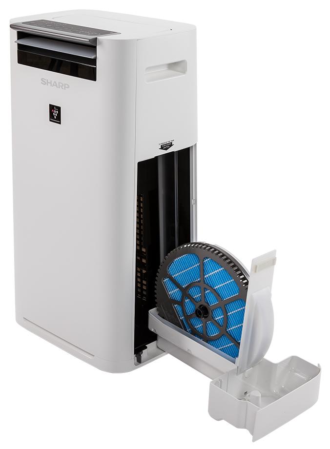 Oczyszczacz powietrza z nawilżaczem czy bez - Sharp KC-G40EUW