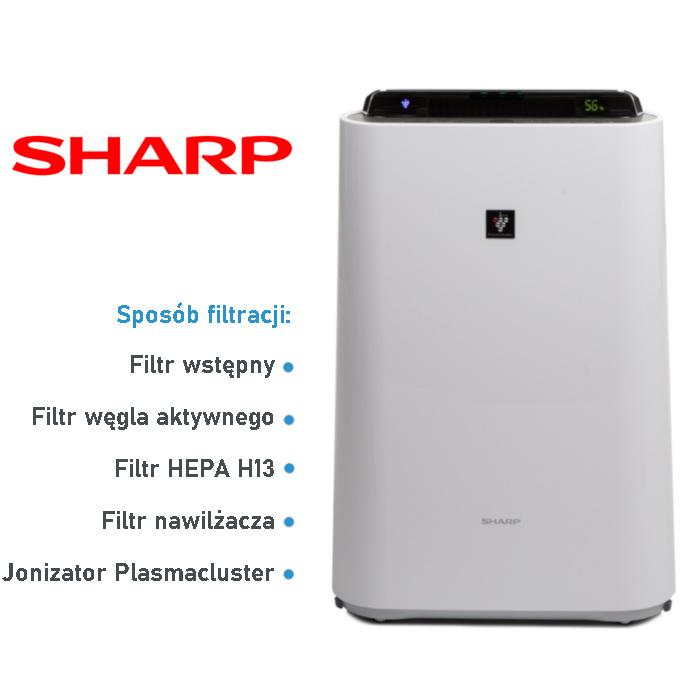 Oczyszczacz Sharp vs Xiaomi - KC-D50EUW