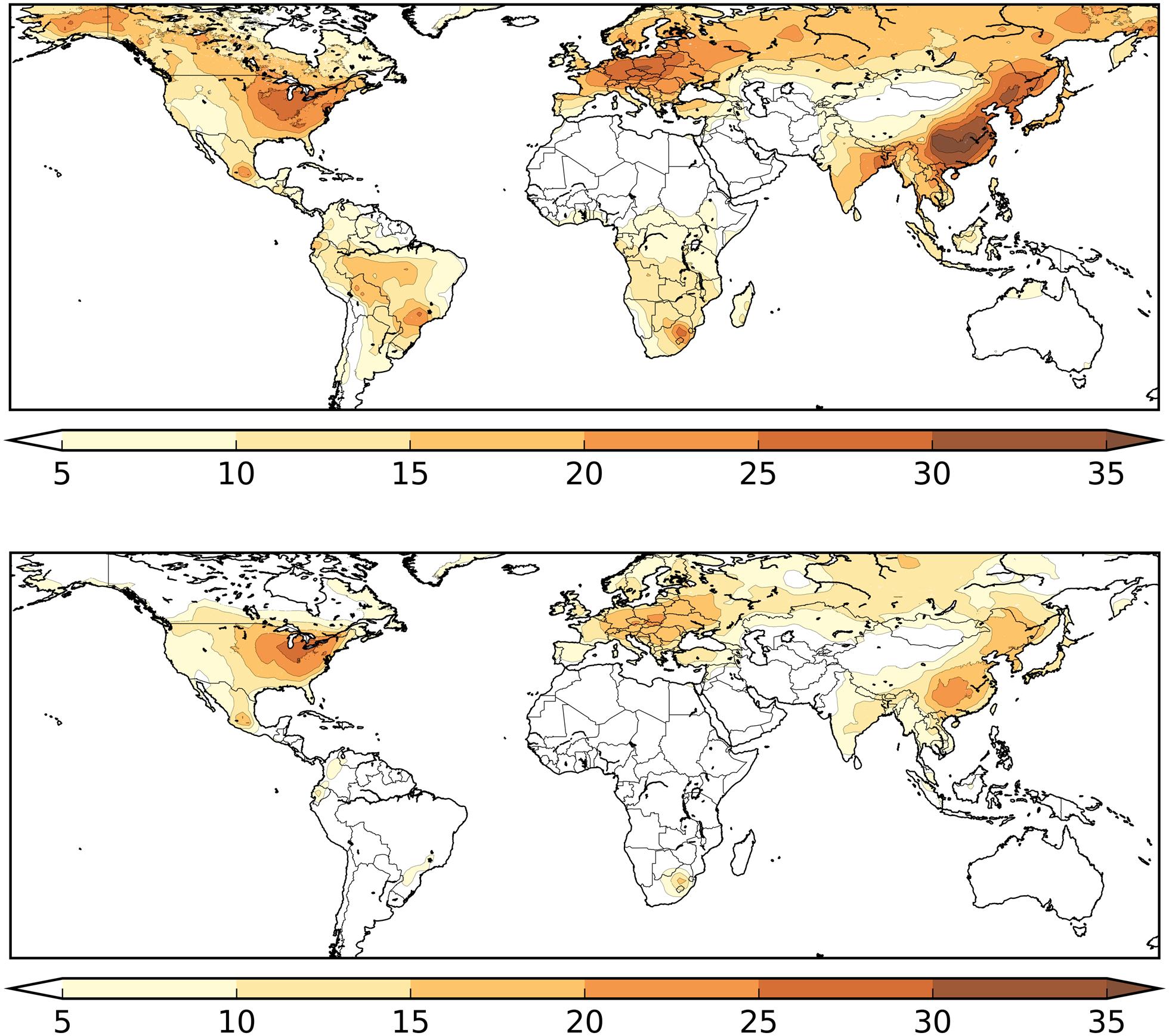Smog a COVID-19 mapa zachorowań