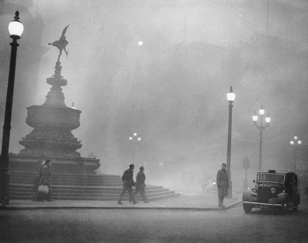 Smog londyński - co to jest smog