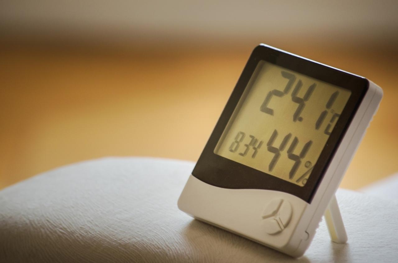 Temperatura a wilgotność powietrza