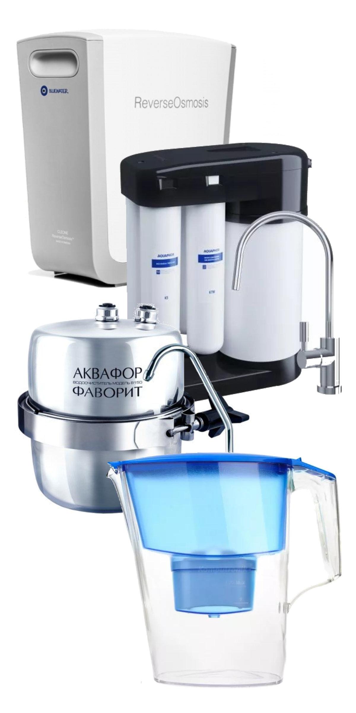 Jaki filtr do wody wybrać? Rodzaje filtrów wody