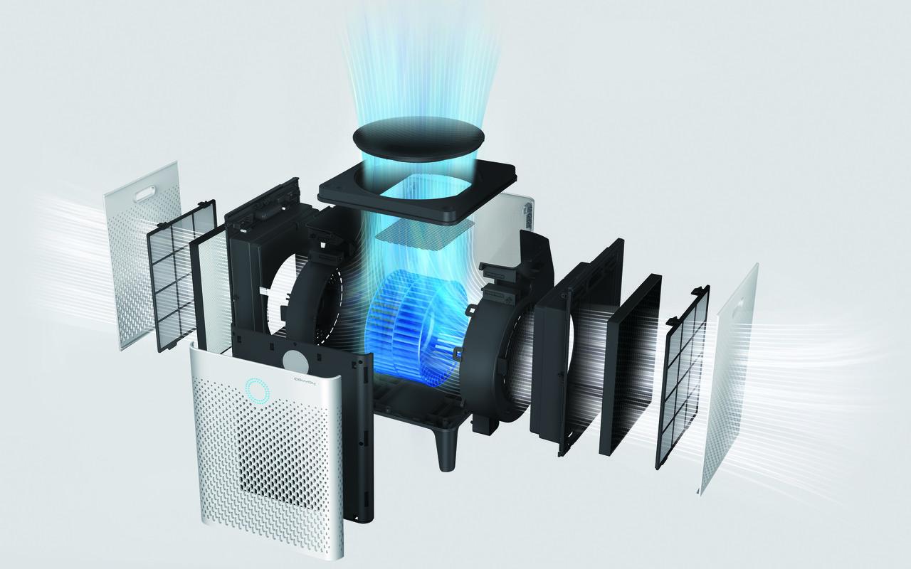 Oczyszczacze powietrza Coway - filtracja powietrza